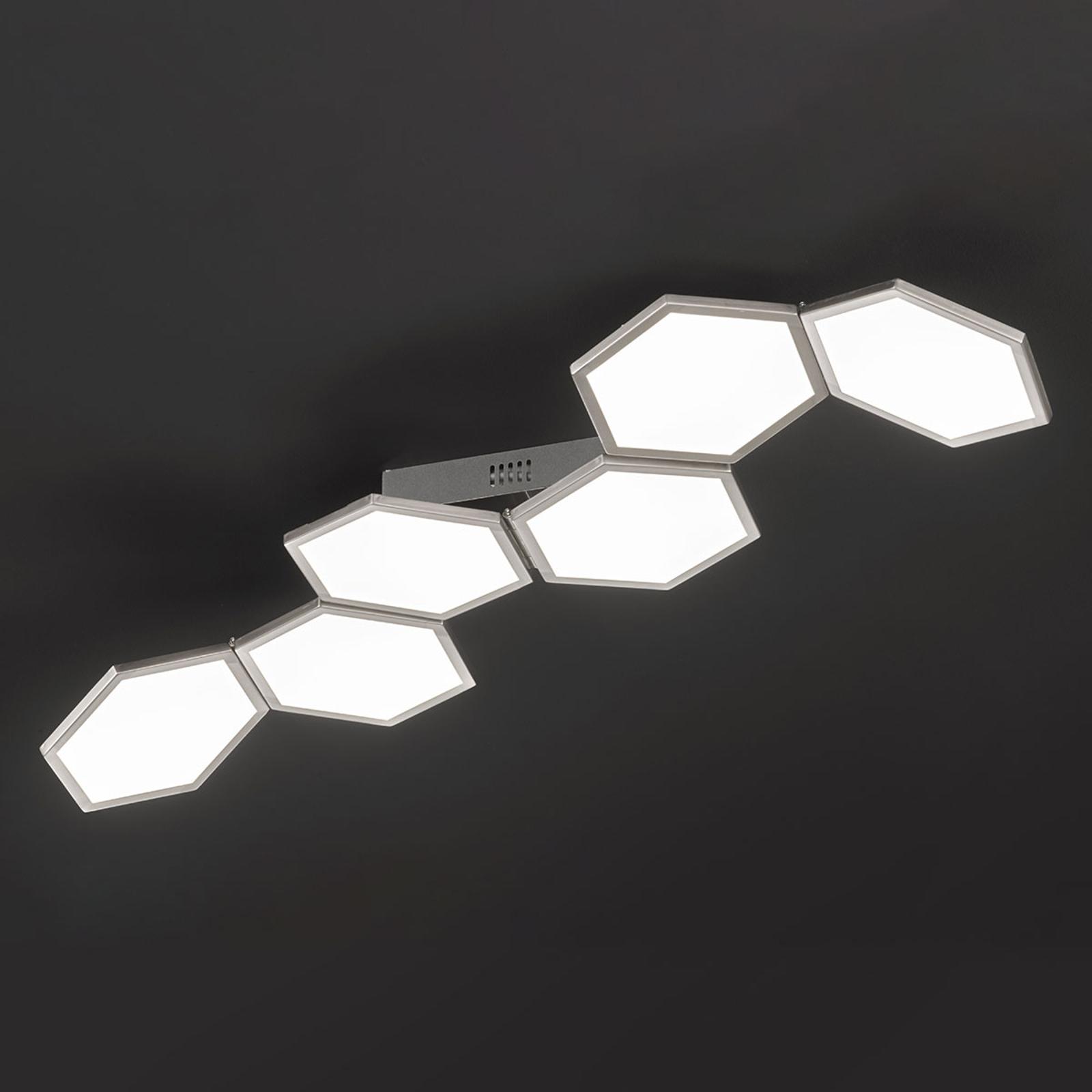 Himmennettävä LED-kattovalo Signe, säädettävä
