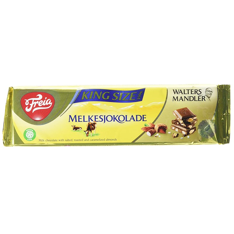 Mjölkchoklad Mandlar - 40% rabatt