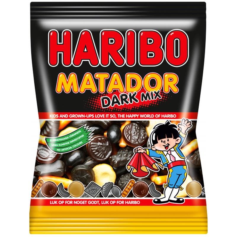"""Godis """"Matador Dark Mix"""" 135g - 22% rabatt"""