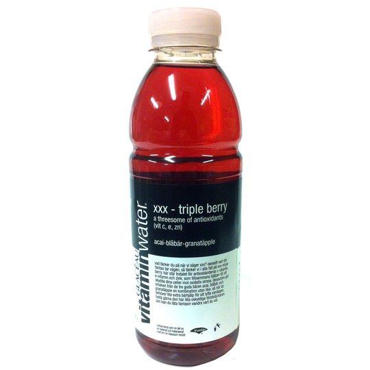 Vitaminwater xxx-triple berry - 68% rabatt