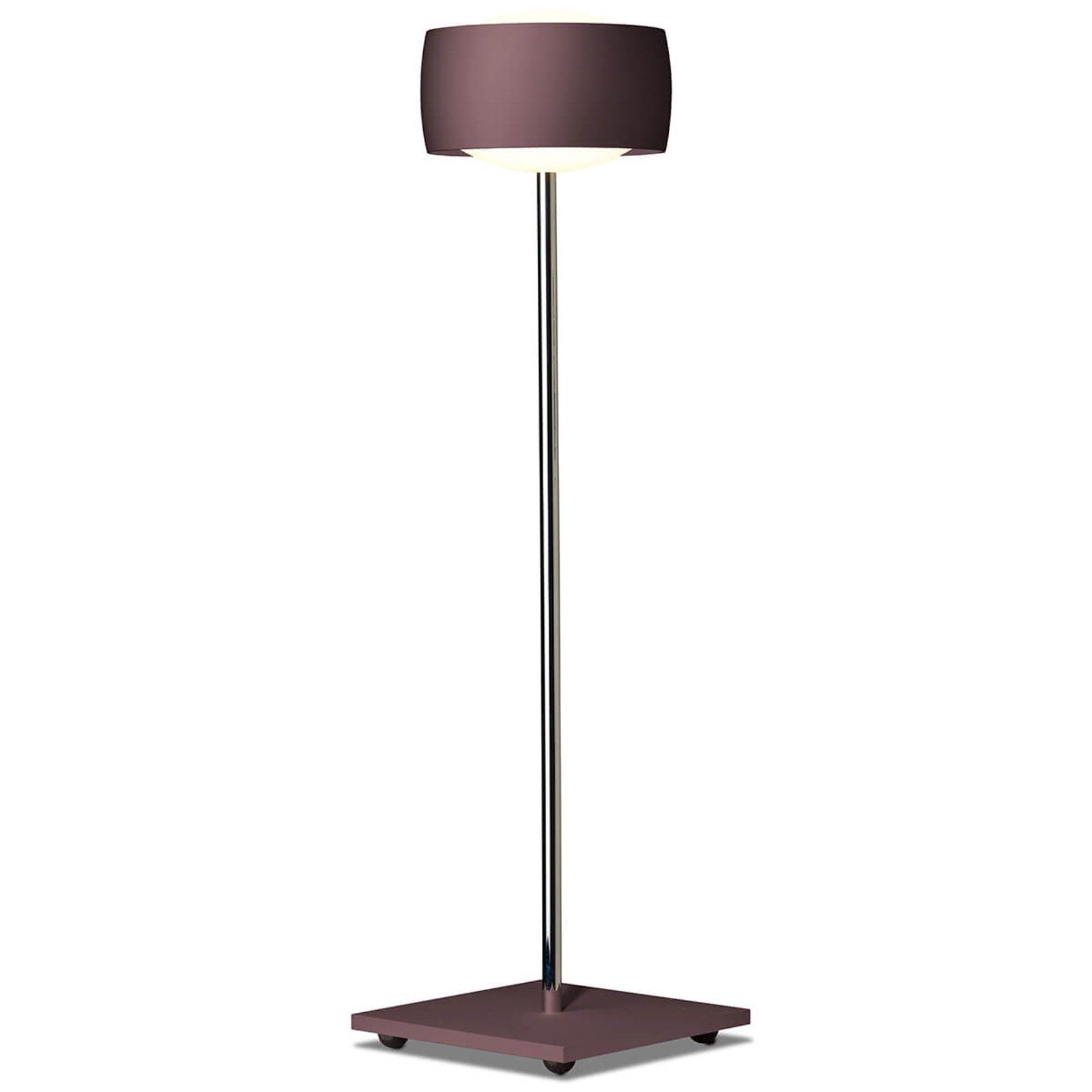 Med bevegelsesstyring–LED-bordlampe Grace espresso