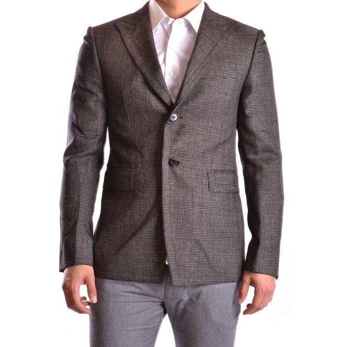 Bikkembergs Men's Blazer Grey 162813 - grey 48