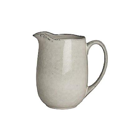 Stor Melke- og fløtekanne, Nordic Sand 100 cl