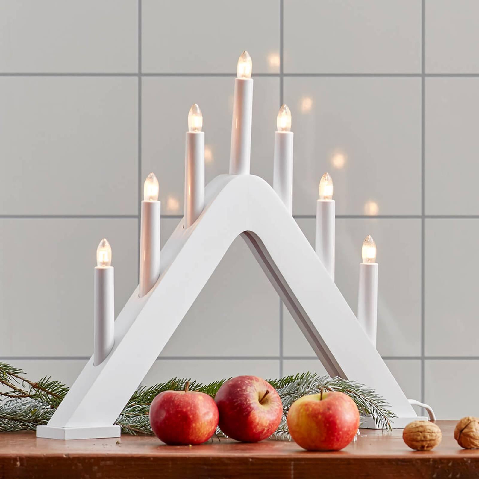 Moderni Jarve-kynttekillö, valkoinen