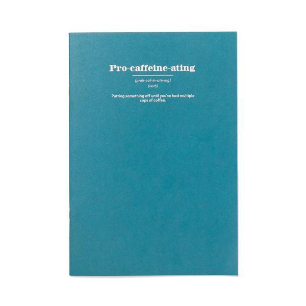 Pro Caffeine-ating A4ish Notebook
