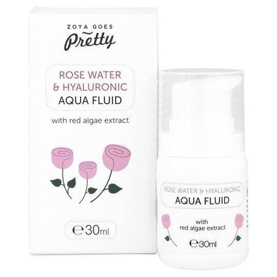 Zoya Goes Pretty Rose Water & Hyaluronic Aqua Fluid, 30 ml