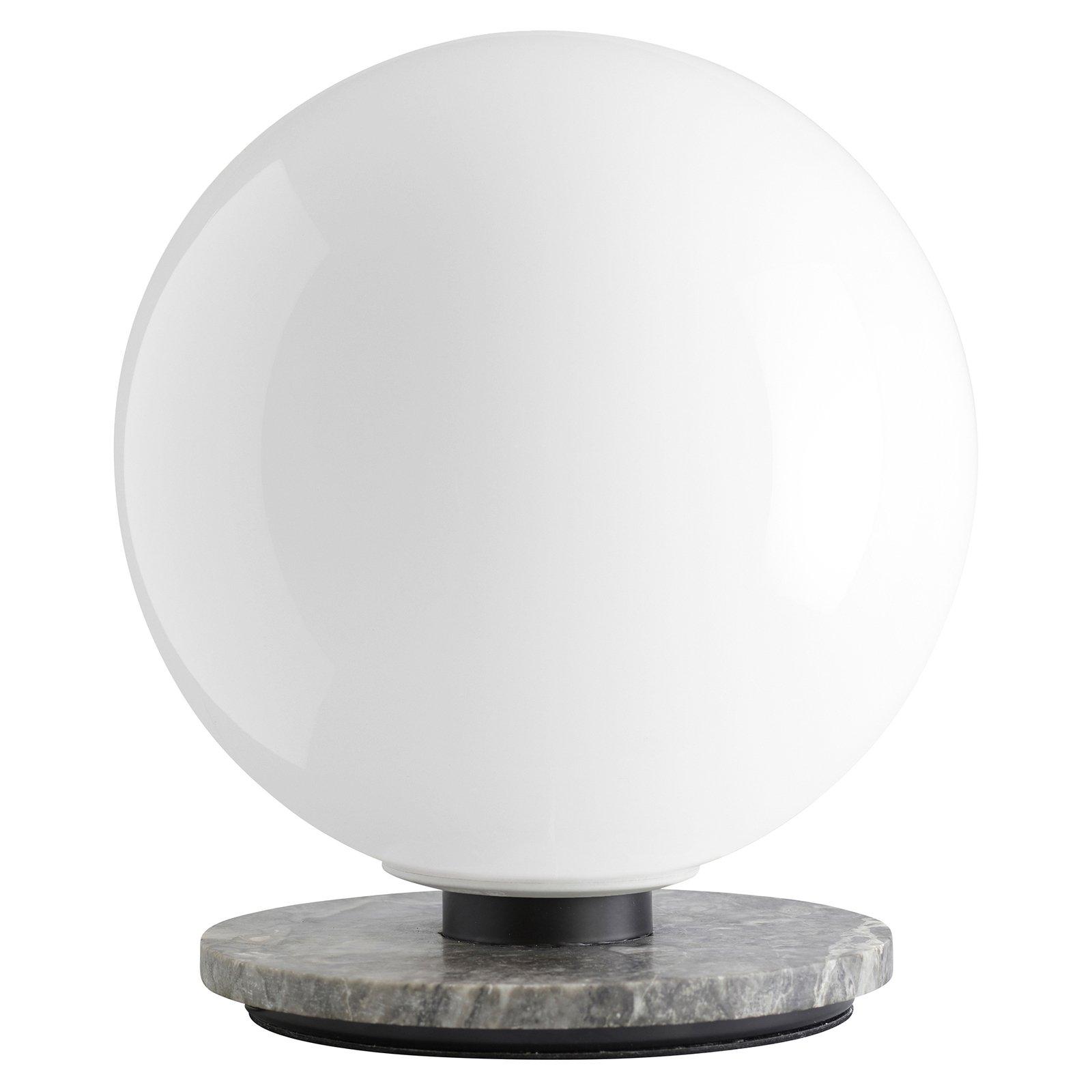 Menu TR Bulb bordlampe 22 cm marmor/opal blank