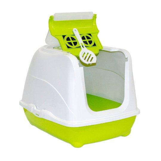 Moderna Flip Cat Kattlåda (Lime)