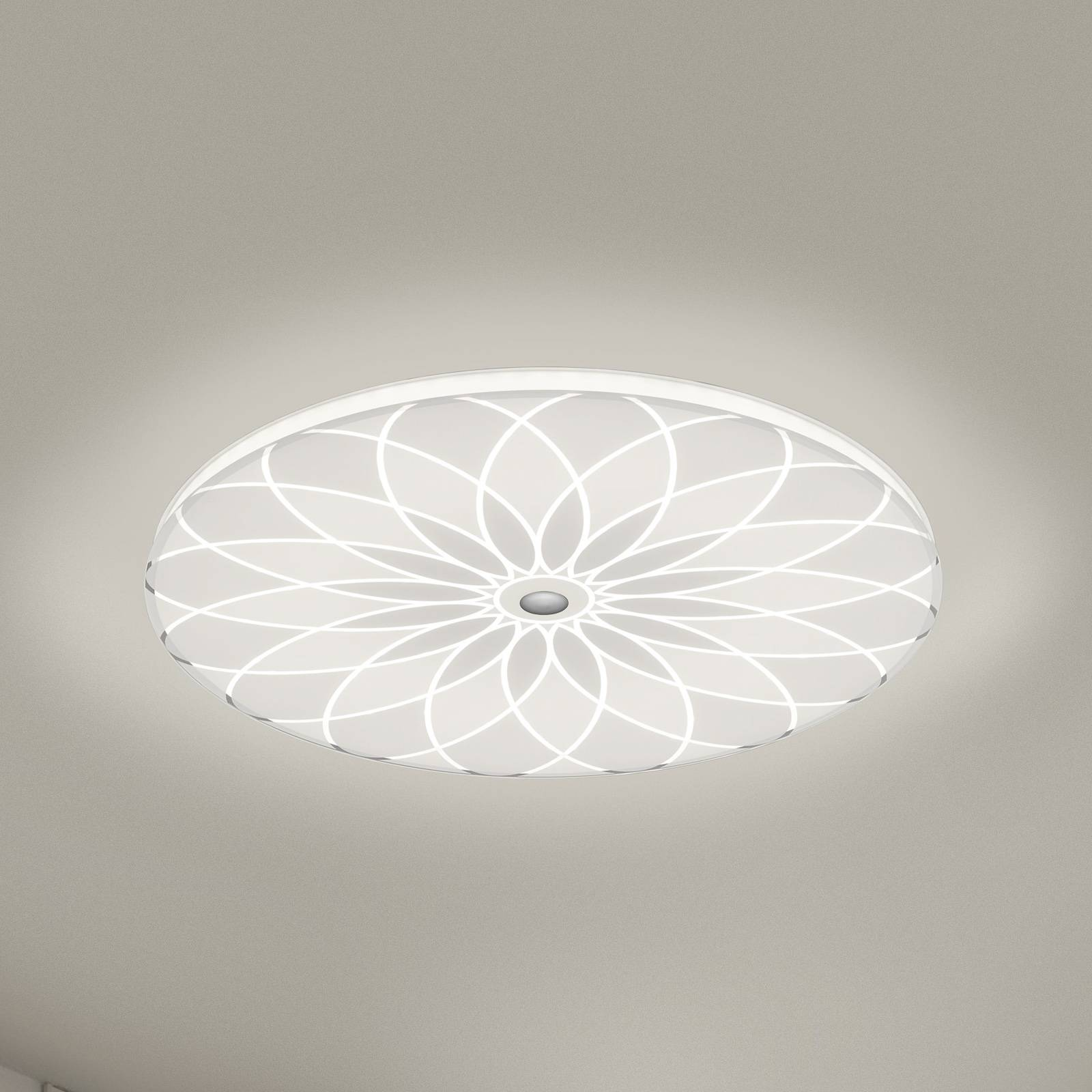 BANKAMP Mandala LED-kattovalaisin kukka, Ø 52 cm