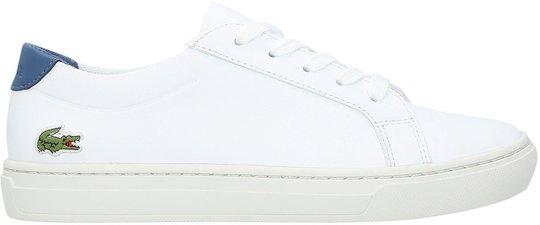 Lacoste L.12.12 318 Sneaker, White/Dark Blue 35