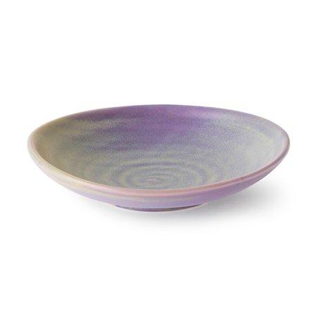 Home Chef Ceramics flat Skål Lilla/Green