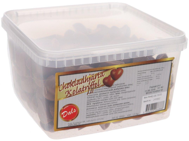 Chokladhjärta Kolatryffel - 55% rabatt