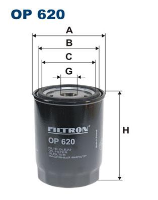 Öljynsuodatin FILTRON OP 620