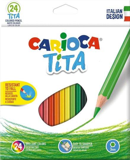 Carioca Fargeblyanter 24 Stk