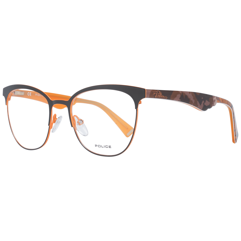 Police Women's Optical Frames Eyewear Brown PL417 510SCB