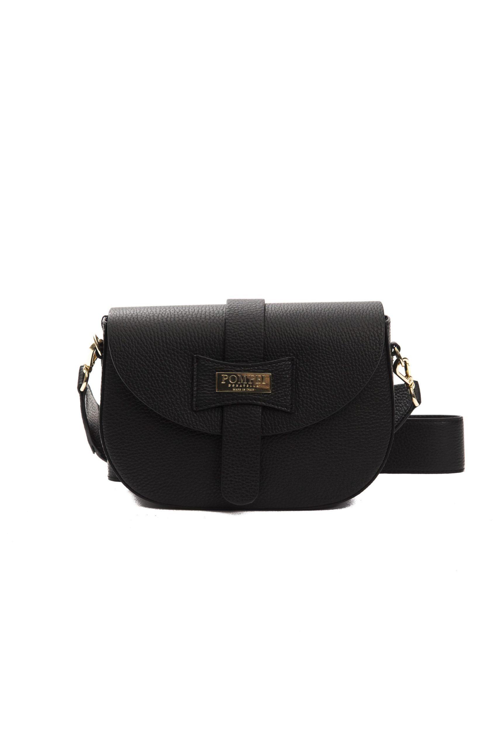 Pompei Donatella Women's Nero Crossbody Bag Black PO1004887