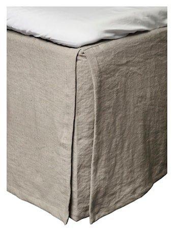 Mira loose fit sengekappe – Stone, 160x220x42