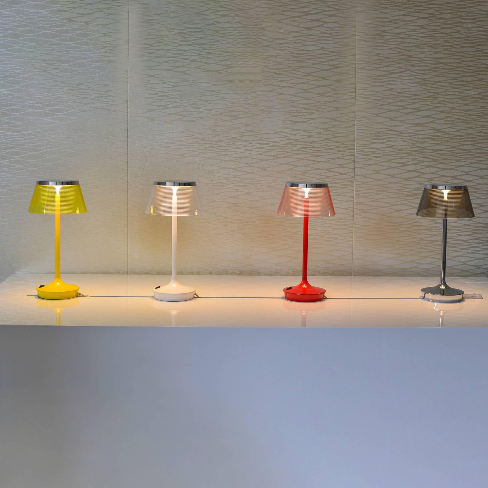 Aluminor La Petite Lampe -LED-pöytälamppu harmaa