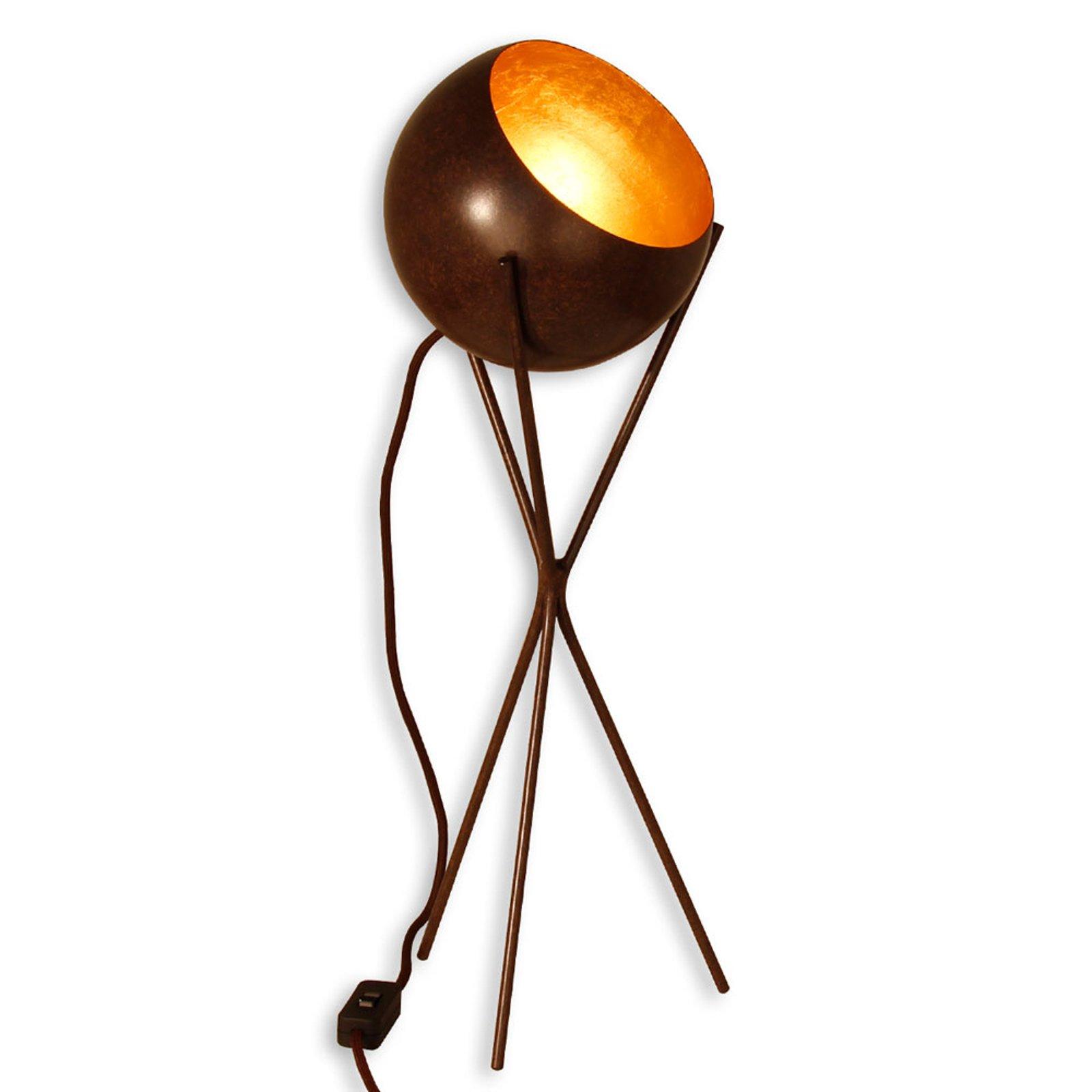 Menzel Solo - trebeinet bordlampe