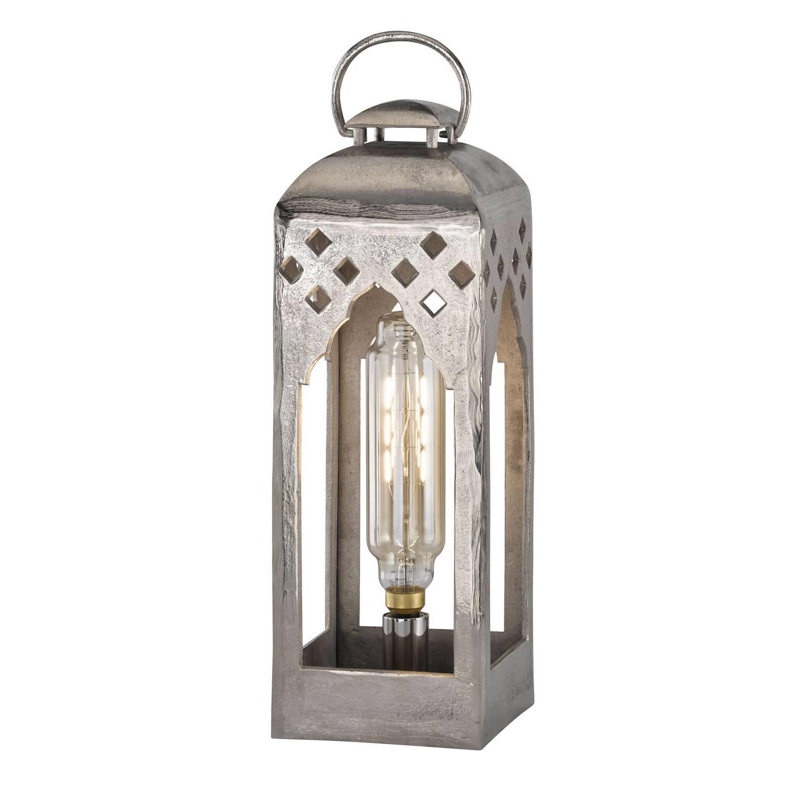 Lykt-bordlampe Melis, høyde 61 cm