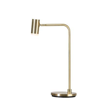 Cato Q Bordlampe Messing LED 56 cm