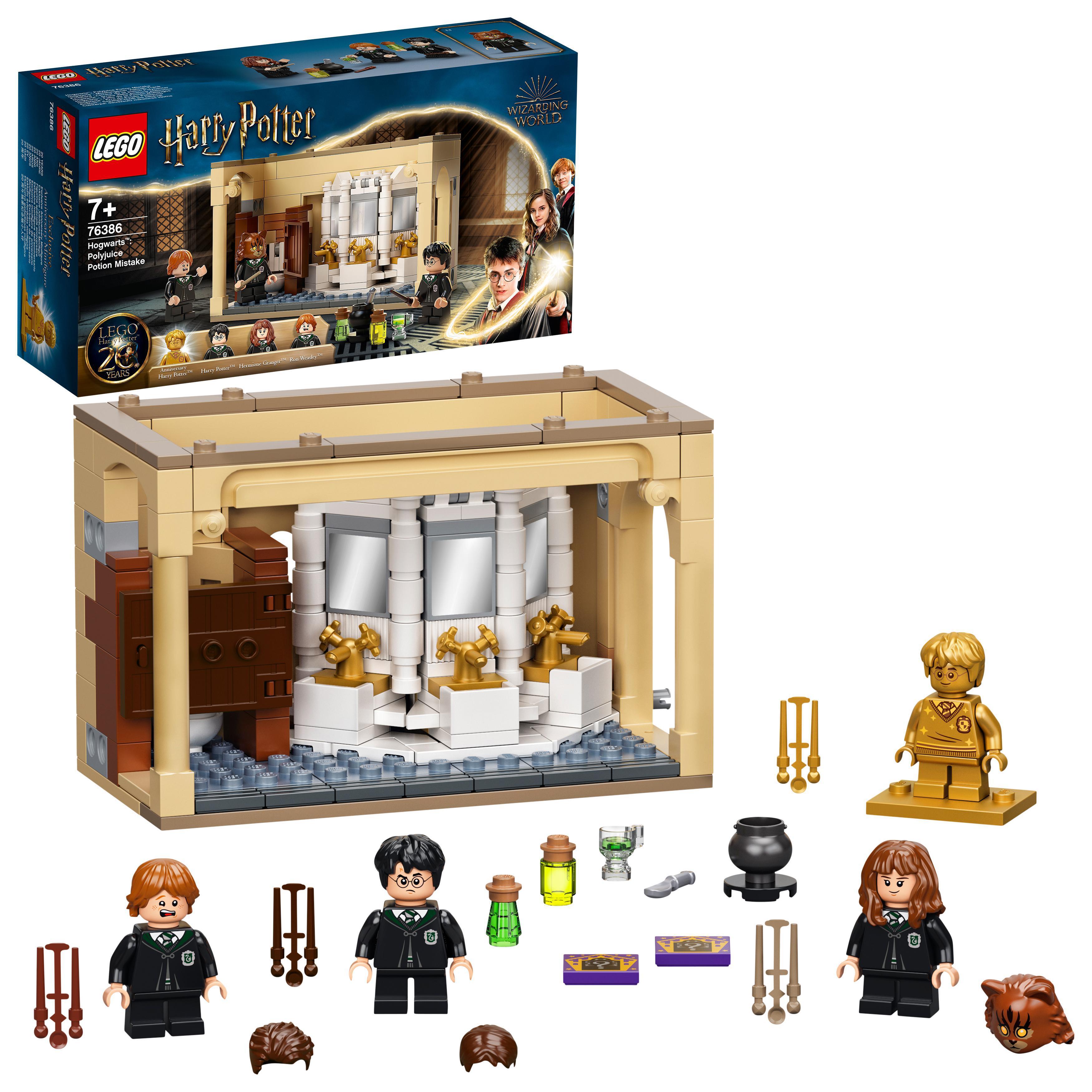 LEGO Harry Potter - Hogwarts™: Polyjuice Potion Mistake (76386)