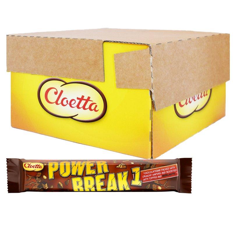 """Laatikollinen suklaapatukoita """"Sportlunch Powerbreak"""" 30 x 50 g - 60% alennus"""