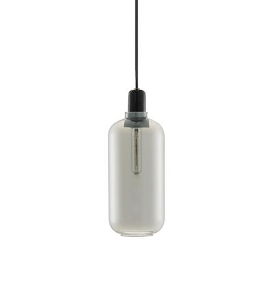 Amp Lampe Svart L