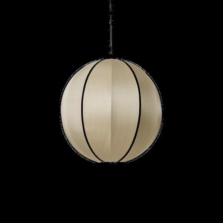Indochina Lampeskjerm Rund Bambus L