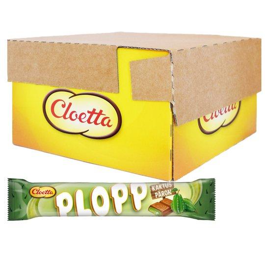Laatikollinen Plopp-suklaapatukoita, Päärynä & Kaktus 35 x 50 g - 60% alennus