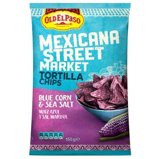 Tortillasipsit Blue Corn - 19% alennus