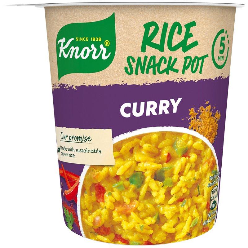 Snack Pot Rice & Curry - 23% alennus