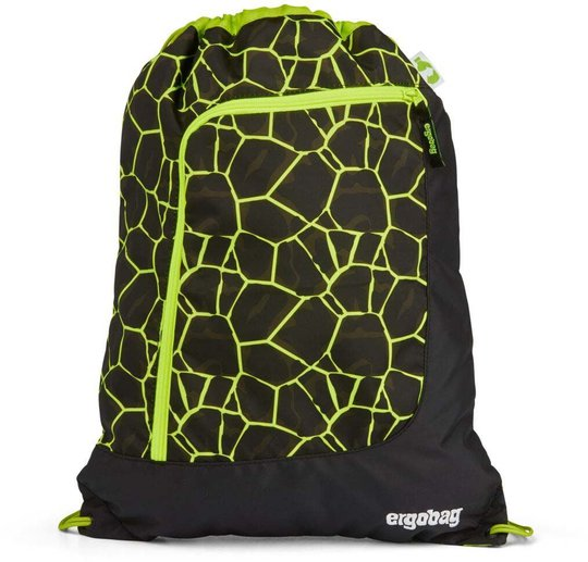 Ergobag Prime Dragon RideBear Gympose 11L, Yellow Lava