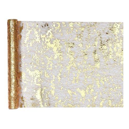 Bordslöpare Trådig Guld/Metallic