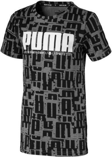 Puma Active Sports Aop T-Skjorte, Black 104