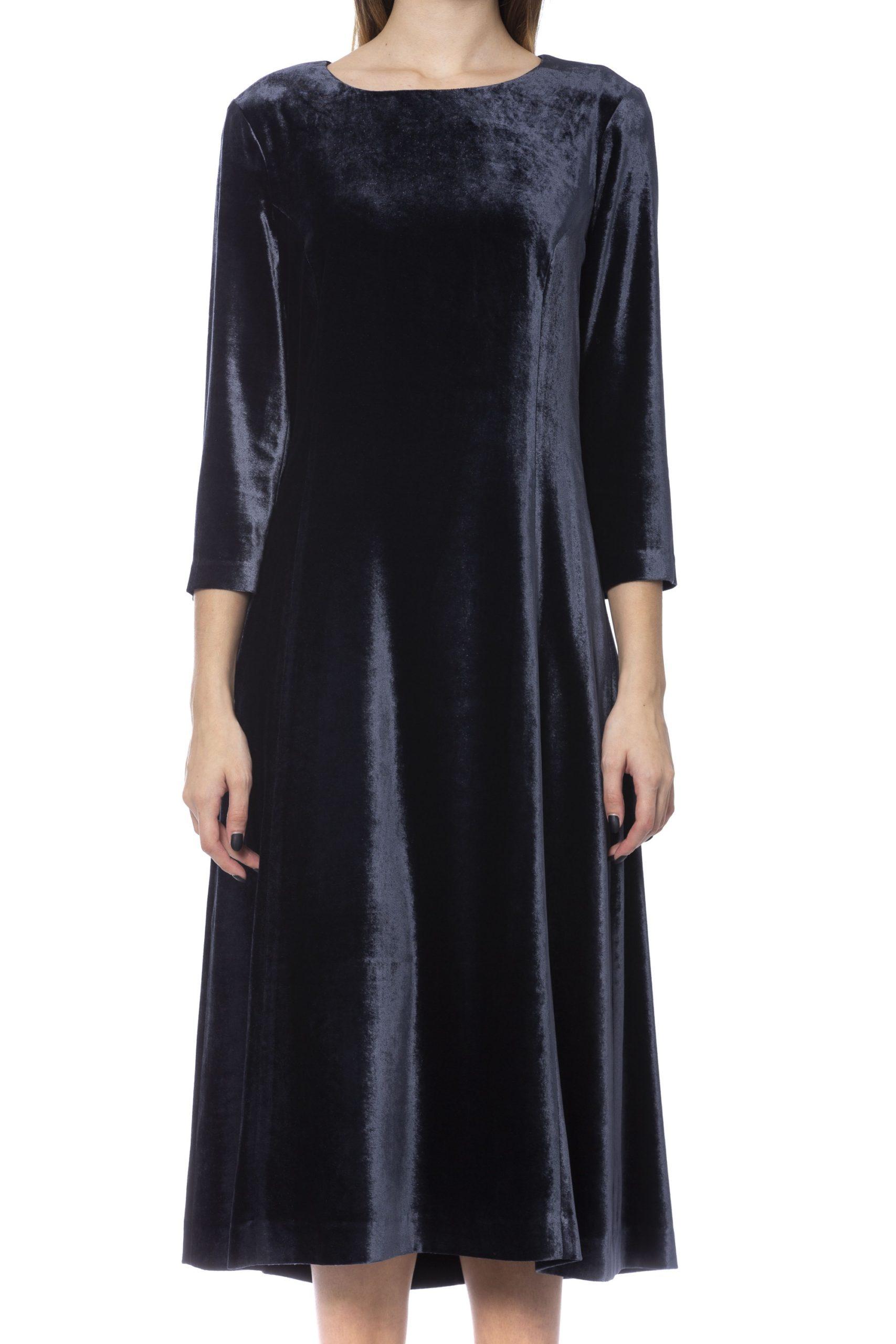Peserico Women's Dress Blue PE993468 - IT42 | S