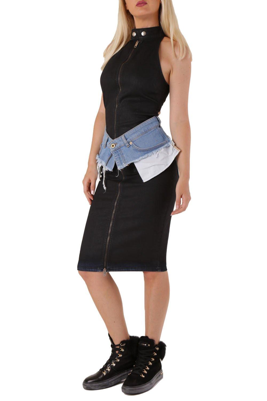 Diesel Women's Dress Black 312522 - black-3 S