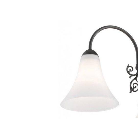 Vegglampe Albena, antrasitt