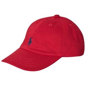 Ralph Lauren Logo Keps Röd one size