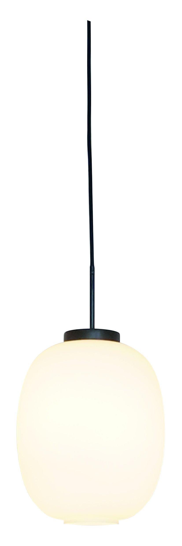 Dyberg-Larsen - DL39 Opal Pendant Lamp - Opal With Black Suspension (8083)