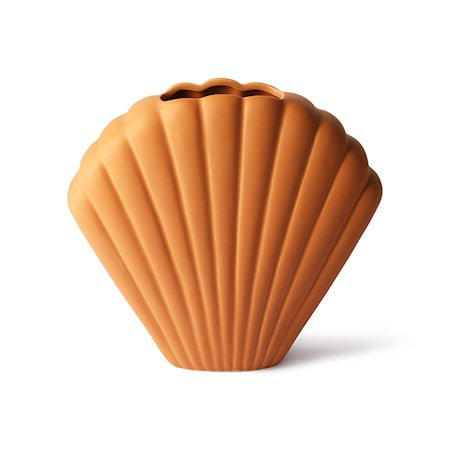 Shell Ceramic Vase Terra L