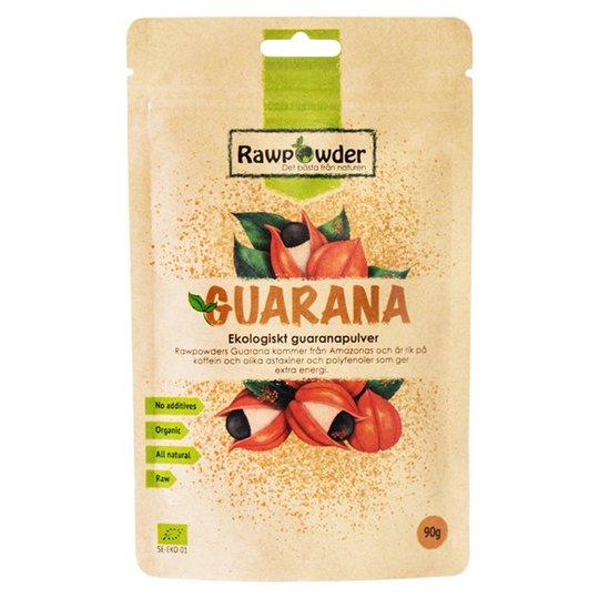 Rawpowder Ekologiskt Guaranapulver, 90 g