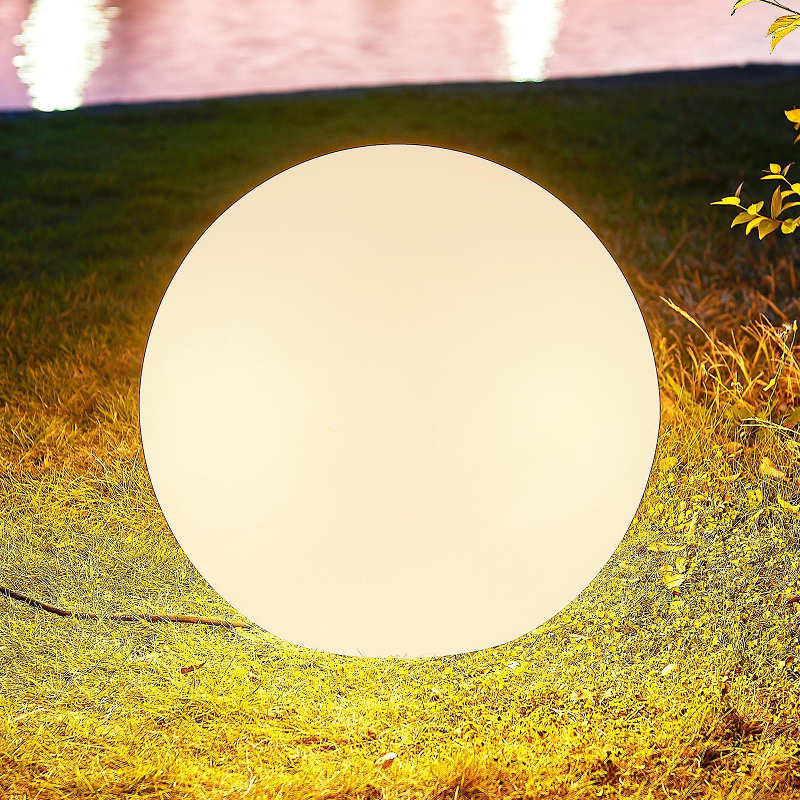 Arcchio Orlana -valaisinpallo, valkoinen, 45 cm