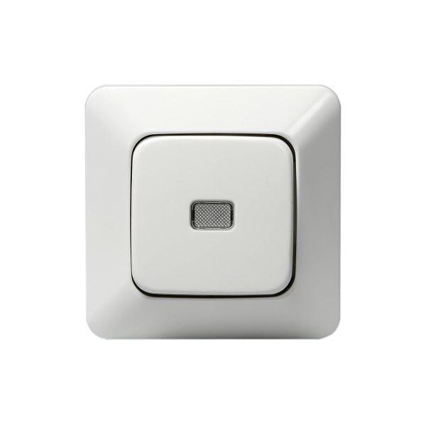 ABB 1466UGL2 Painike upotettava, IP20, valkoinen Porras