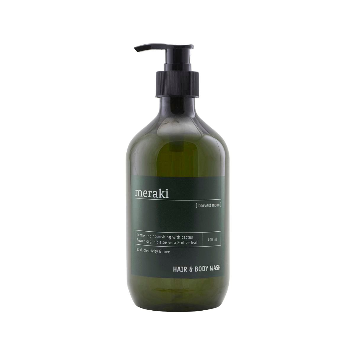 Meraki - Harvest Moon Hair & Body Wash 490 ml (Mkas101/309770101)