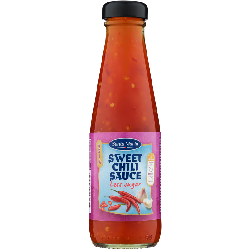 Sweet Chili Sauce Mindre Socker - 35% rabatt