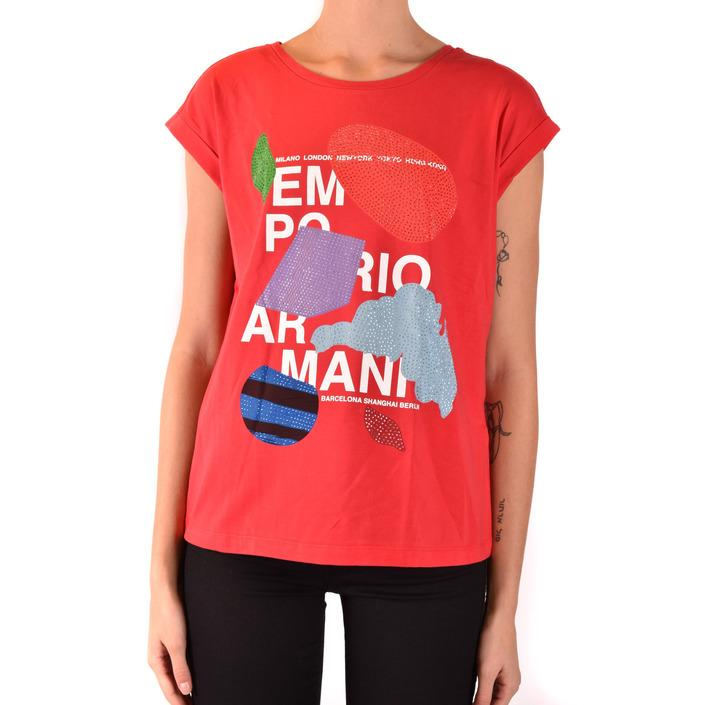 Emporio Armani Women's T-Shirt Red 184518 - red 38