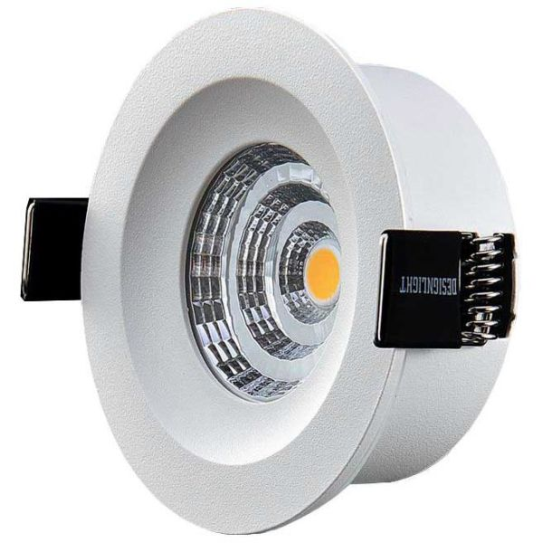 Designlight Q-3MW Downlight-valaisin liitäntälaite, 3000 K, kiinteä