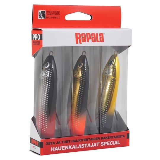 Rapala Minnow Spoon Hauenkalastajat Special betessortiment 3st/pkt