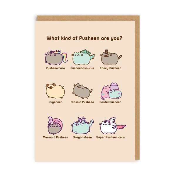 What Kind Of Pusheen Are You? Greeting Card